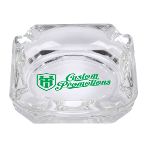 Custom Printed Glass Ashtrays