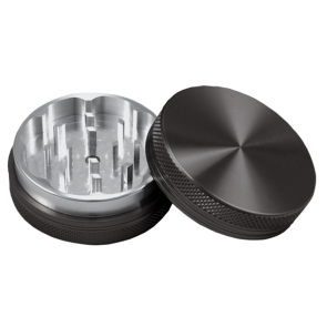 High Grade Aluminum Grinders : 2 Piece : 38mm : Blank