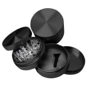 High Grade Aluminum Grinders : 4 Piece : 38mm : Blank
